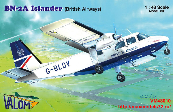 VM48010   Britten-Norman BN-2A Islander (British Airways) (thumb33838)