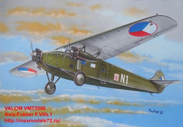 VM72096   Avia-Fokker F.VIIb.1 (thumb33840)