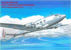 VM72130   DH.91 Albatross (Imperial Airways) (thumb33844)