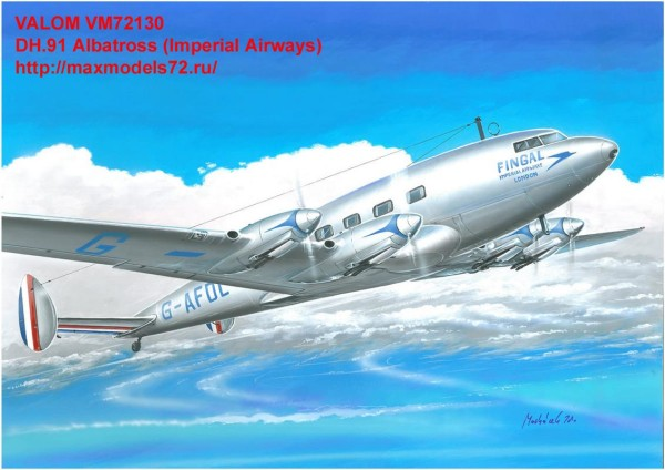 VM72130   DH.91 Albatross (Imperial Airways) (thumb33844)