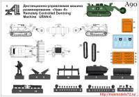 AMinA90   Дистанционно-управляемая машина разминирования «Уран — 6»      Remotely Controlled Demining Machine URAN-6 (attach1 33825)