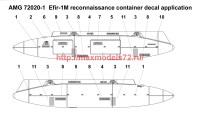 АМG 72020-1   «Эфир-1М» Контейнер радиационной разведки, пусковое устройство П-62-2 (attach2 40278)