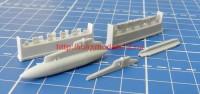 АМG 72020-1   «Эфир-1М» Контейнер радиационной разведки, пусковое устройство П-62-2 (attach3 40278)