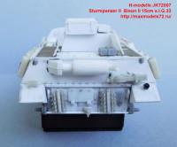 JK72007   Sturmpanzer II  Bison II 15cm s.I.G.33 (attach8 39139)
