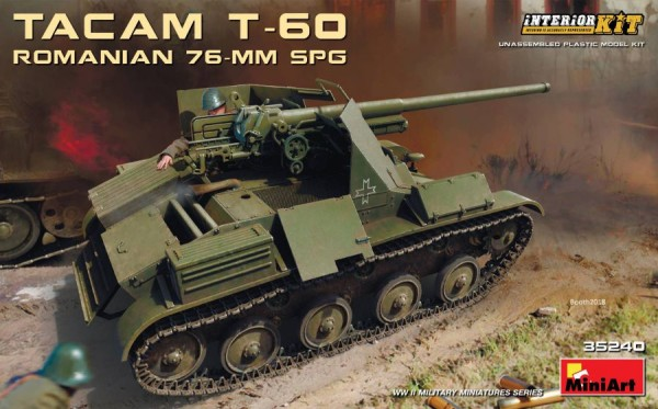 MA35240   Romanian 76mm self-propelled gun Tacam T-60. Interior kit (thumb39876)