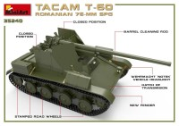 MA35240   Romanian 76mm self-propelled gun Tacam T-60. Interior kit (attach8 39876)