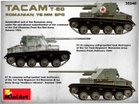 MA35240   Romanian 76mm self-propelled gun Tacam T-60. Interior kit (attach9 39876)