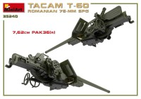MA35240   Romanian 76mm self-propelled gun Tacam T-60. Interior kit (attach4 39876)
