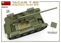MA35240   Romanian 76mm self-propelled gun Tacam T-60. Interior kit (attach5 39876)