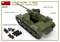 MA35240   Romanian 76mm self-propelled gun Tacam T-60. Interior kit (attach6 39876)