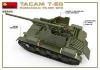 MA35240   Romanian 76mm self-propelled gun Tacam T-60. Interior kit (attach7 39876)