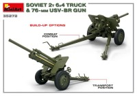 MA35272   Soviet 2 t 6×4 Truck with 76 mm USV-BR Gun (attach5 39912)