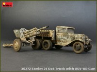 MA35272   Soviet 2 t 6×4 Truck with 76 mm USV-BR Gun (attach7 39912)