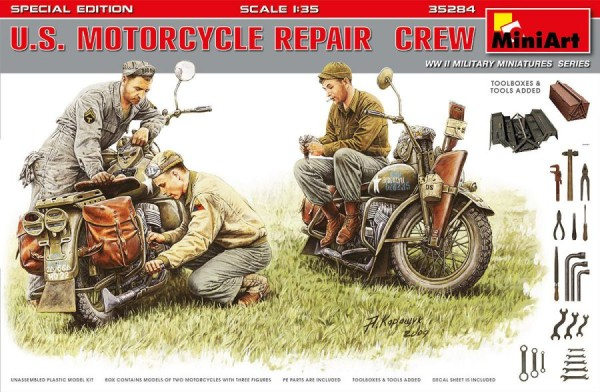 MA35284   U.S. Motorcycle Repair Crew. Special edition (thumb39924)