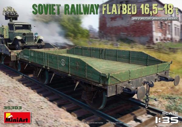 MA35303   Soviet Railway Flatbed 16,5-18 t (thumb39948)