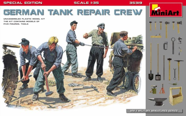 MA35319   German tank repair crew. Special edition (thumb39954)