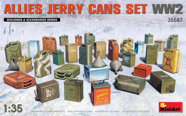 MA35587   Allies jerry cans set WW2 (thumb39957)