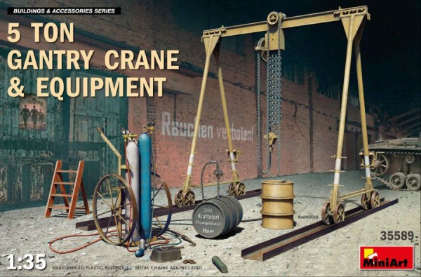 MA35589   5 Ton Gantry Crane & Equipment (thumb39968)