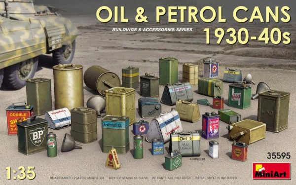 MA35595   Oil & Petrol Cans 1930-40s (thumb39988)