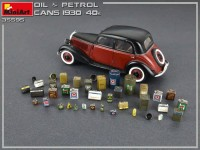 MA35595   Oil & Petrol Cans 1930-40s (attach2 39988)