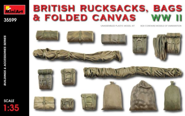 MA35599   WWII British rucksacks, bags & folded canvas (thumb39994)