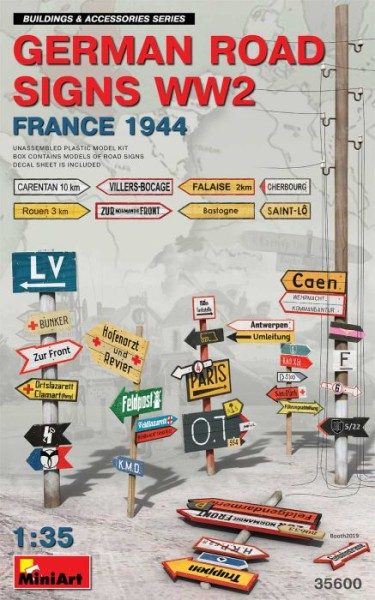MA35600   German road signs WW2 (France 1944) (thumb39998)