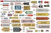 MA35600   German road signs WW2 (France 1944) (attach1 39998)