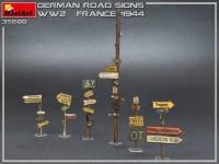 MA35600   German road signs WW2 (France 1944) (attach2 39998)