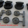 OKBS72280   Wheels for Mercedes G4, Continental GELANDE, early rim (attach2 34262)