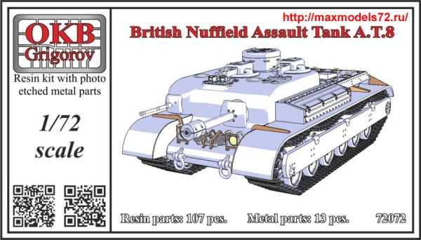 OKBV72072   British Nuffield Assault Tank A.T.8 (thumb38364)