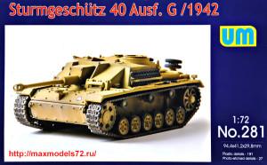 UM281   Sturmgeschutz 40 Ausf.G early (thumb34034)