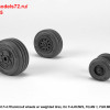 AR AW48325   1/48 F-4 Phantom-II wheels w/ weighted tires, late (thumb36153)