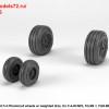 AR AW48325   1/48 F-4 Phantom-II wheels w/ weighted tires, late (attach3 36153)