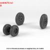 AR AW72328   1/72 F-4 Phantom-II wheels w/ weighted tires, early (attach3 36168)