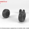 AR AW72330   1/72 F-4 Phantom-II wheels w/ weighted tires, late (attach1 36178)
