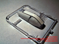 MS72010 — окрасочные маски для переплета кабины вертолета AH-1W/1T die-cut mask for painting canopy frame (attach3 40517)