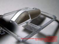 MS72010 — окрасочные маски для переплета кабины вертолета AH-1W/1T die-cut mask for painting canopy frame (attach7 40517)
