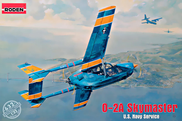 RN632   O-2A Skymaster U.S. Navy Service (thumb40005)