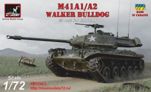AR72412   1/72 M41A1/A2 Walker Bulldog US post-war Light tank (thumb38928)