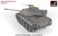 AR72412   1/72 M41A1/A2 Walker Bulldog US post-war Light tank (attach4 38928)