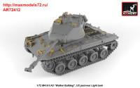 AR72412   1/72 M41A1/A2 Walker Bulldog US post-war Light tank (attach5 38928)
