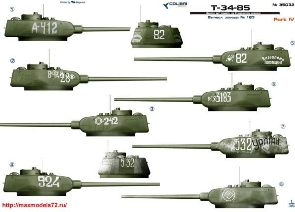 CD35032   Т-34-85 завода 183  Part IV (thumb38680)