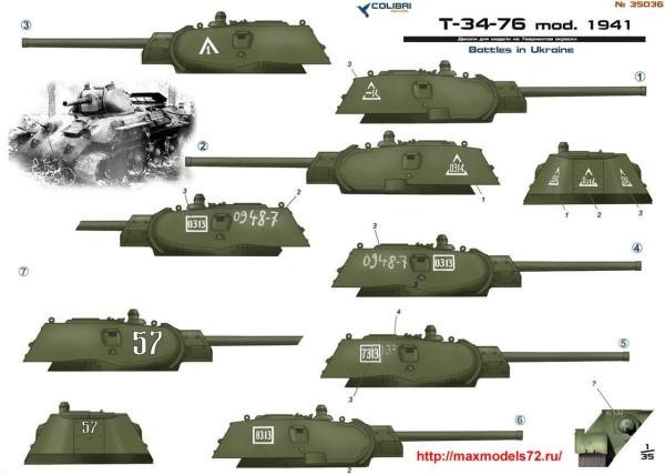CD35036   T-34-76 model 1941. Part II  Battles in Ukraine (thumb38693)