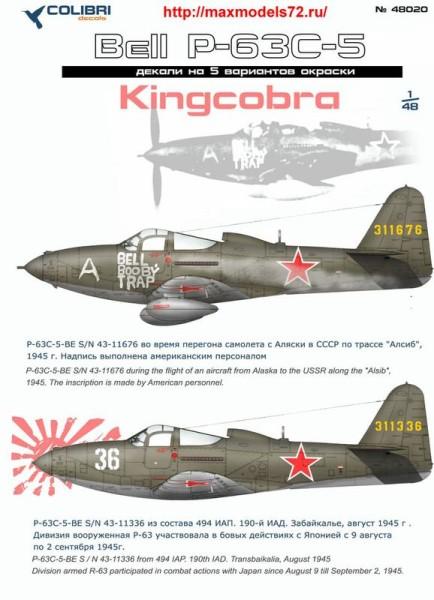 CD48020   P-63C-5 Kingkobra in USSR (thumb38672)