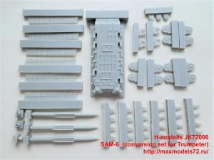 JK72006   SAM-6  (conversion set for Trumpeter) (thumb36526)
