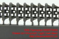 OKBS72436   Tracks for Churchill, Light Cast Steel (attach1 39179)