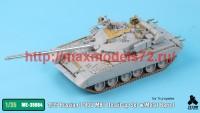 TetraME-35064   1/35 Russian T-80U MBT Detail-up Set w/Metal Barrel for Trumpeter (attach1 41105)