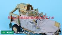 TetraME-72013   1/72 M1240 M-ATV & O-GPK Turret Detail-up Set for Galaxy Hobby (attach7 41116)