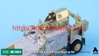 TetraME-72013   1/72 M1240 M-ATV & O-GPK Turret Detail-up Set for Galaxy Hobby (attach1 41116)