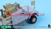 TetraME-72013   1/72 M1240 M-ATV & O-GPK Turret Detail-up Set for Galaxy Hobby (attach3 41116)